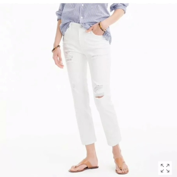 J. Crew Vintage Crop Jeans